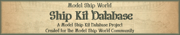 modelshipworld kit index